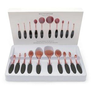 BNIB Toothbrush Makeup Brush Set